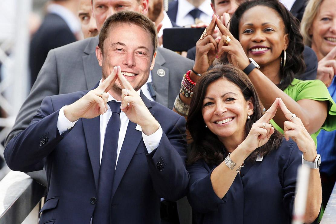 Elon Musk dit oui à Paris 2024 et à l'AutoLid en Tesla 3