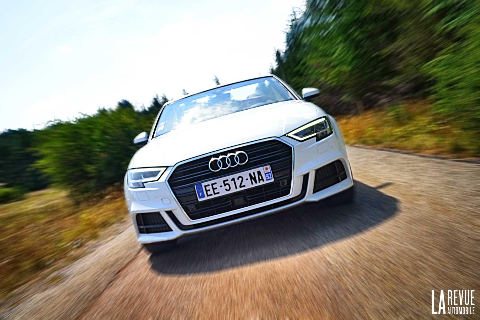 Essai en vitesse de la nouvelle Audi A3 Cabriolet