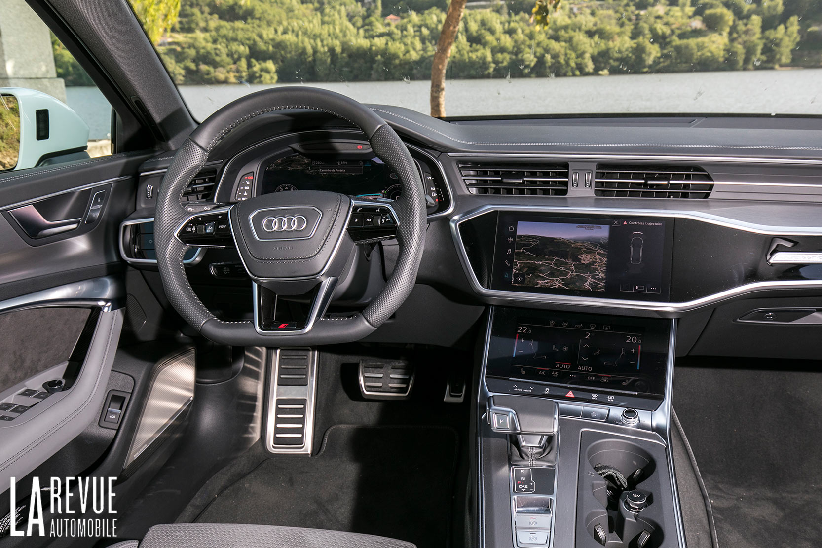 Intérieur de la nouvelle Audi A6