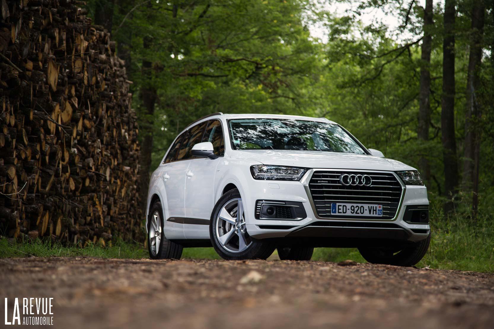 Photo Audi Q7  Exterieur Ann U00e9e  2016