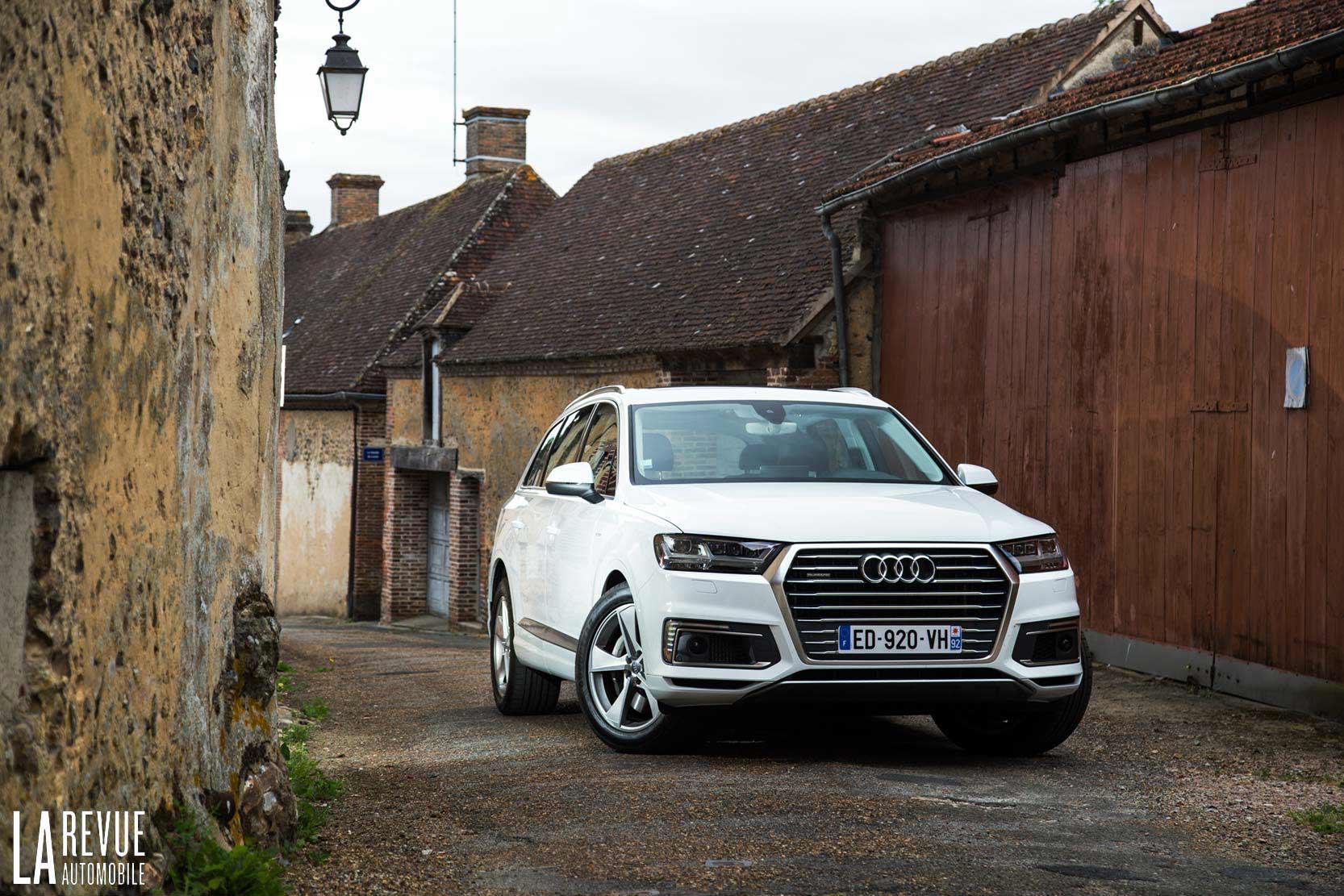 Audi Q7  U0026gt  Essai Audi Q7 E