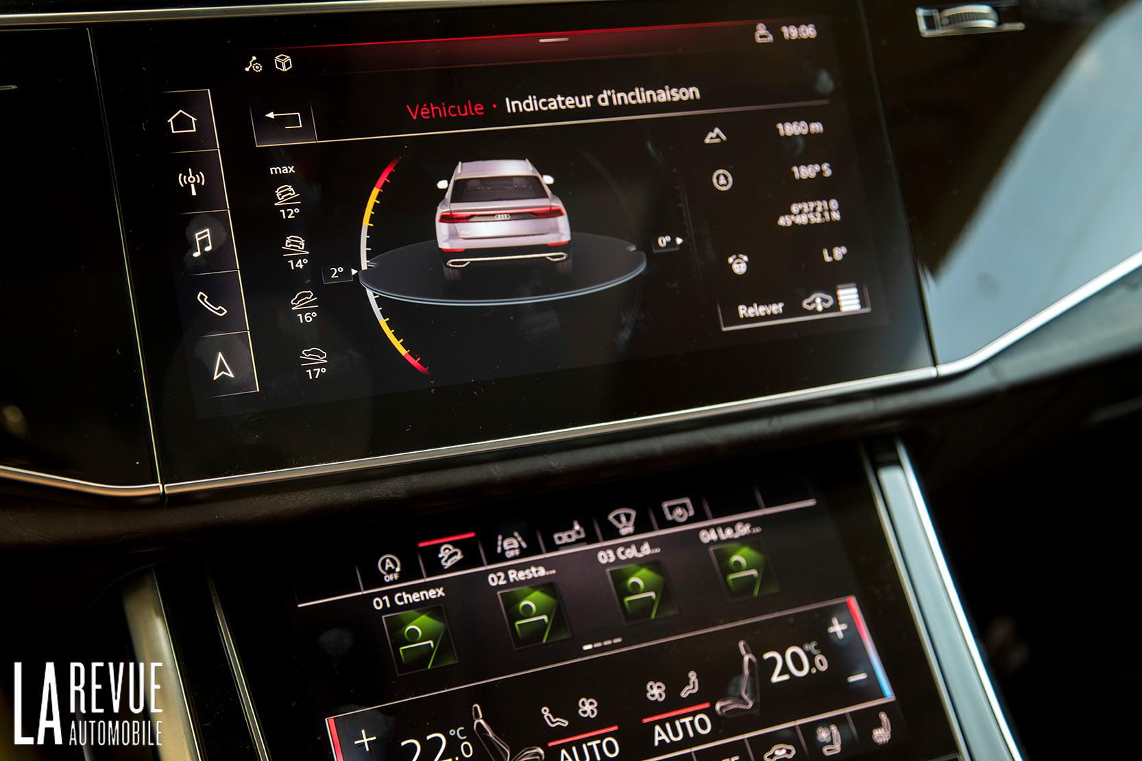 Intérieur Audi Q8 50 TDI