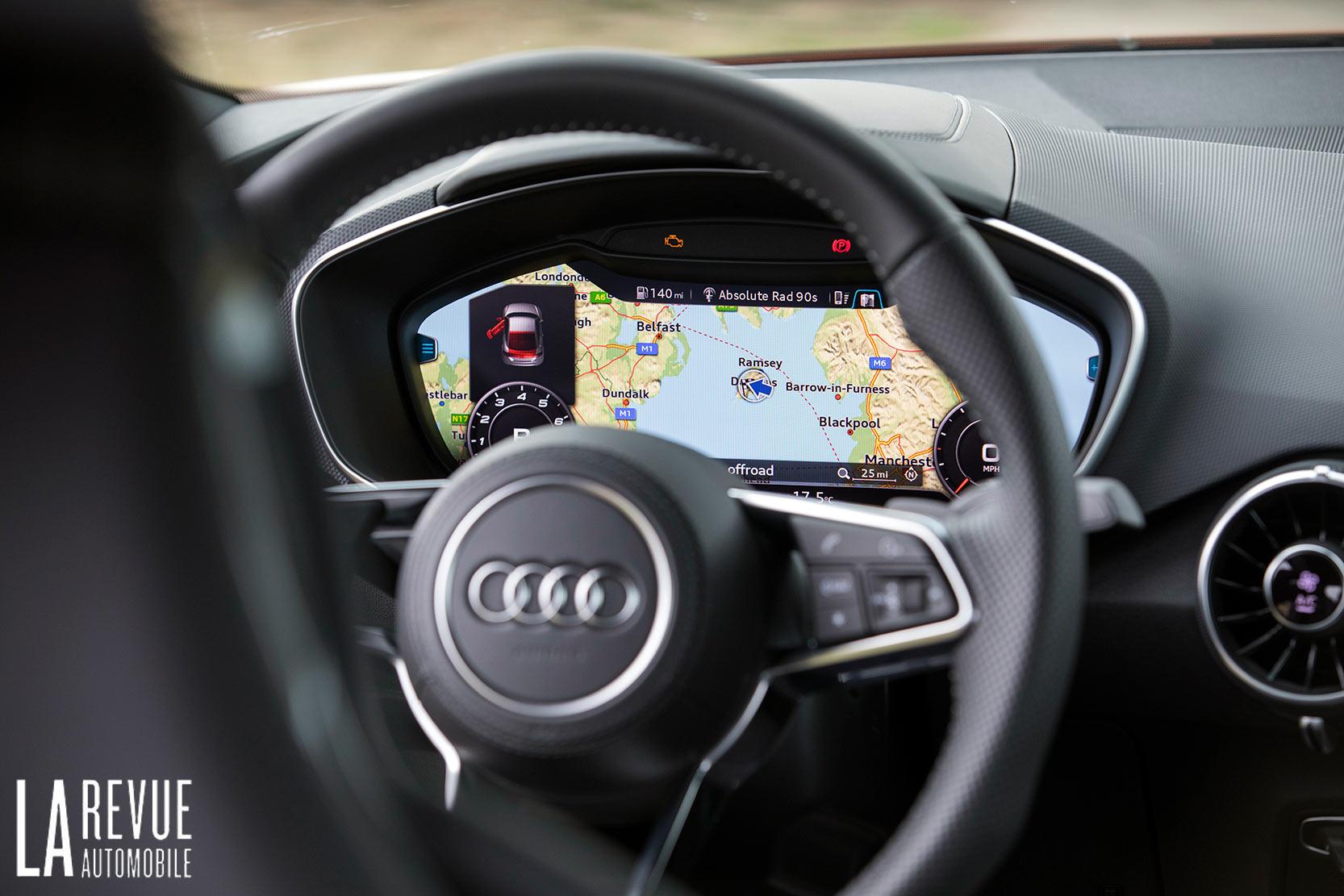 Intérieur Audi TT S 2018