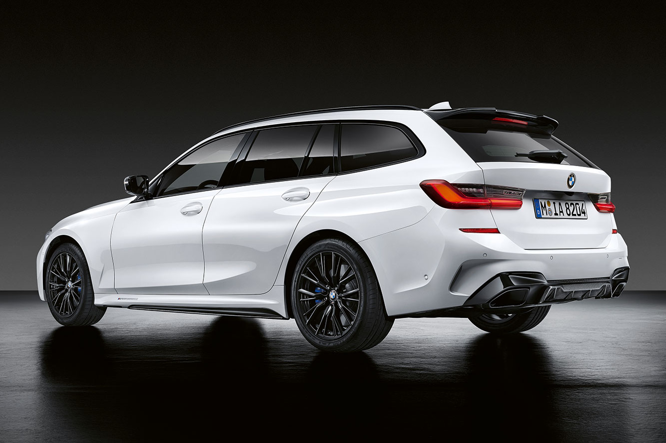 BMW Série 3 Touring : le pack M Performance pour le break