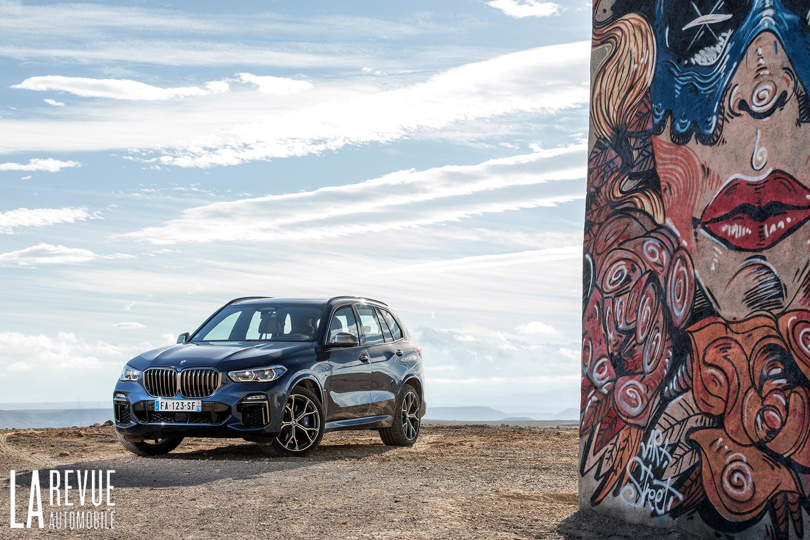 Essai du nouveau BMW X5 et sa version M50d avec son puissant moteur diesel à 4 turbos