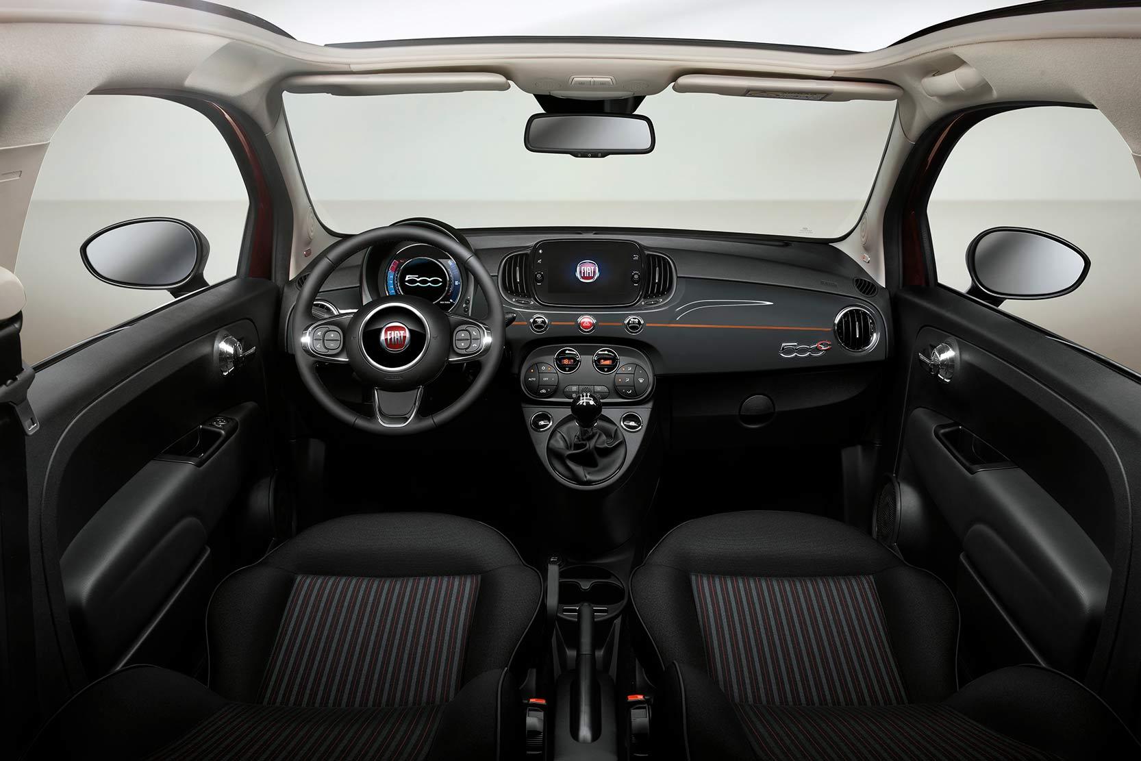 Intérieur Fiat 500 Collezione