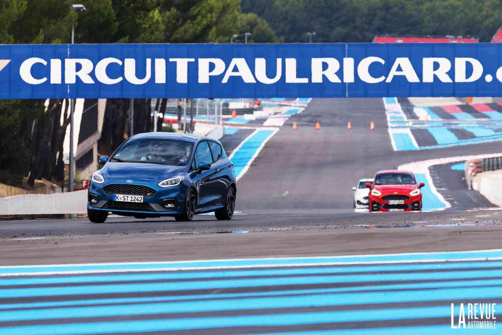 Essai Ford Fiesta ST sur le Paul Ricard