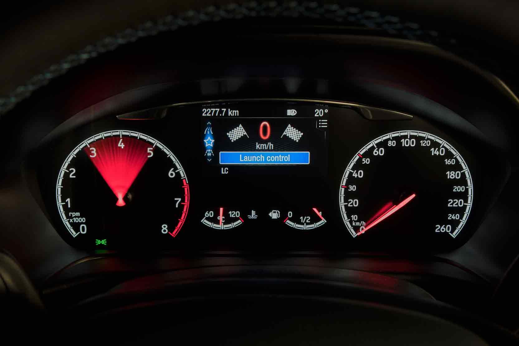 Nouvelle Ford Fiesta ST et le Launch Control