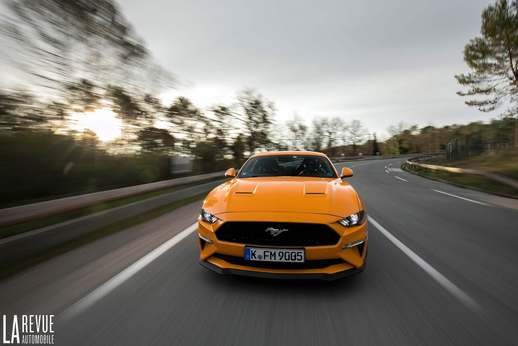 La nouvelle Ford Mustang et son V8 est à l'essai