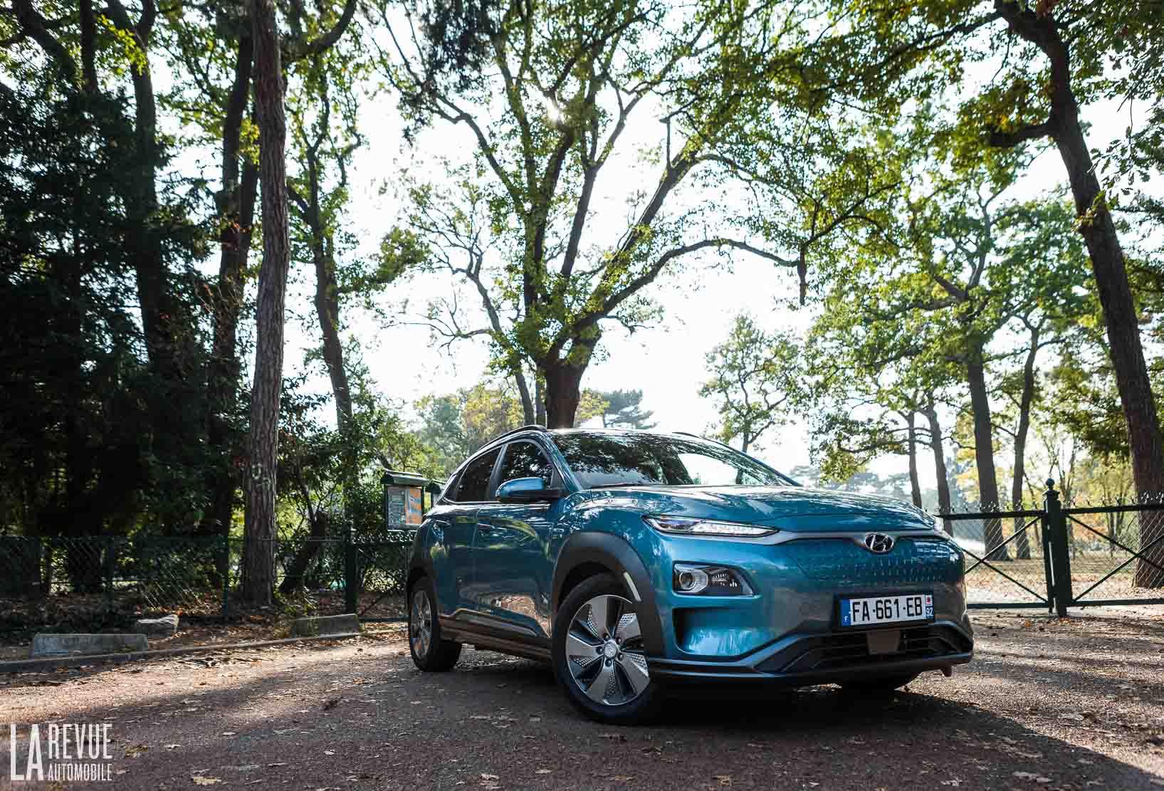 Essai du SUV urbain, le Hyundai KONA electric