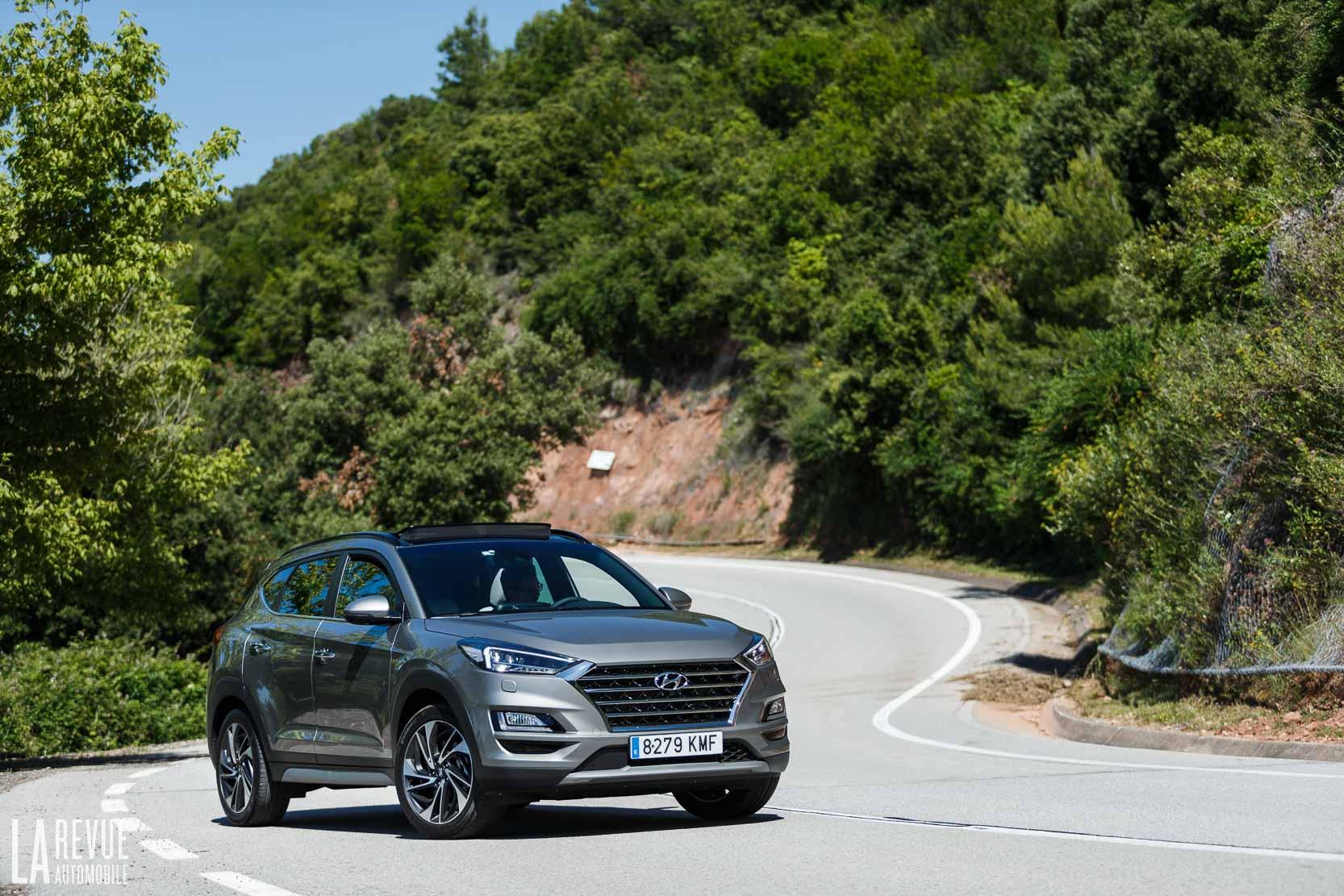Essai du Hyundai TUCSON, le SUV compact