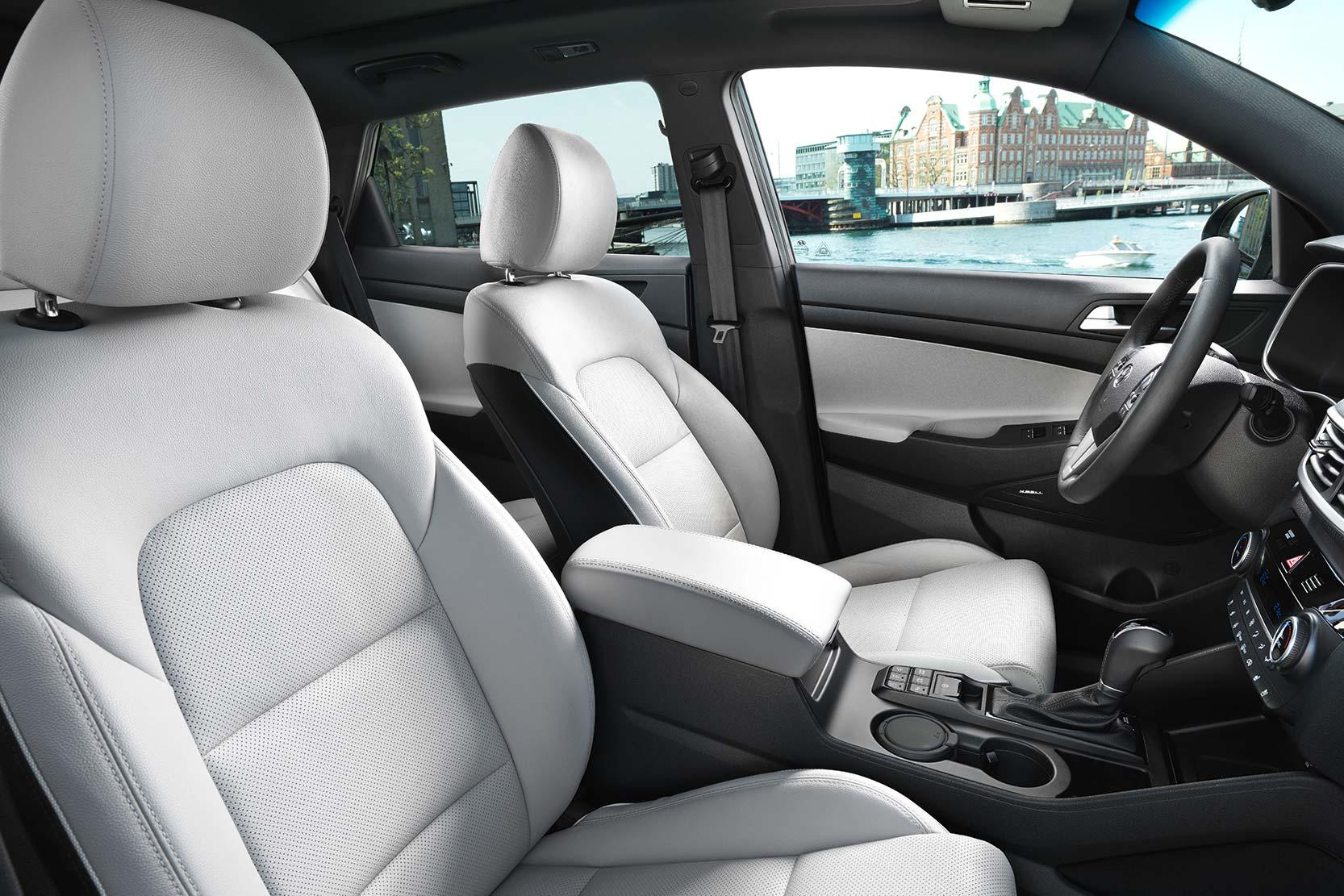 Intérieur de la nouvelle Hyundai TUCSON