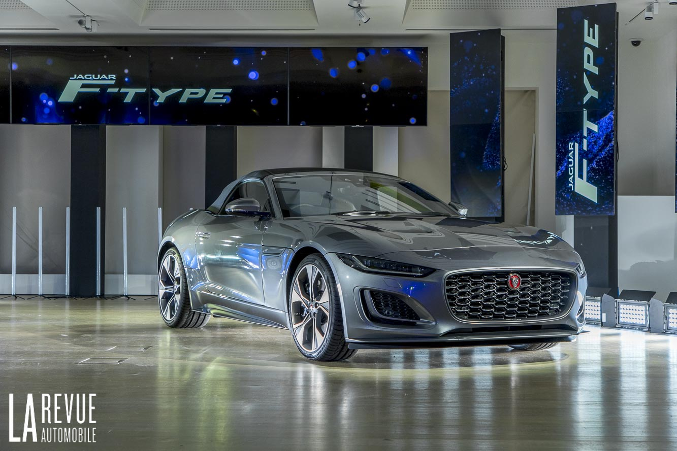 Jaguar F-Type 2020 reveal