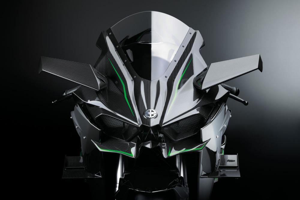 Exterieur Kawasaki Ninja H2r 0 Photo Hd