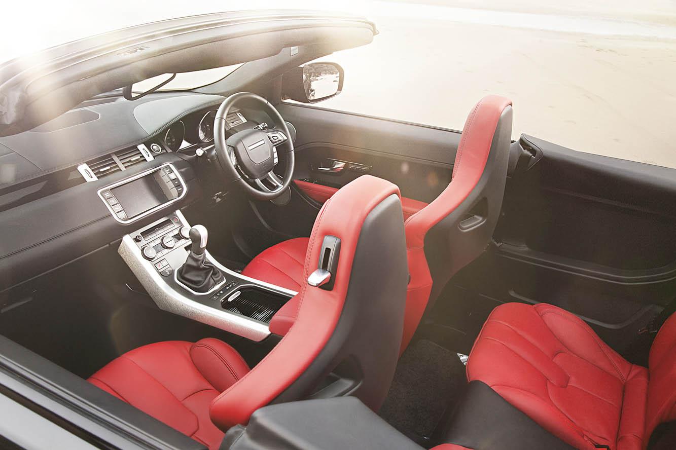 photo land rover evoque cabriolet concept interieur exterieur ann e. Black Bedroom Furniture Sets. Home Design Ideas