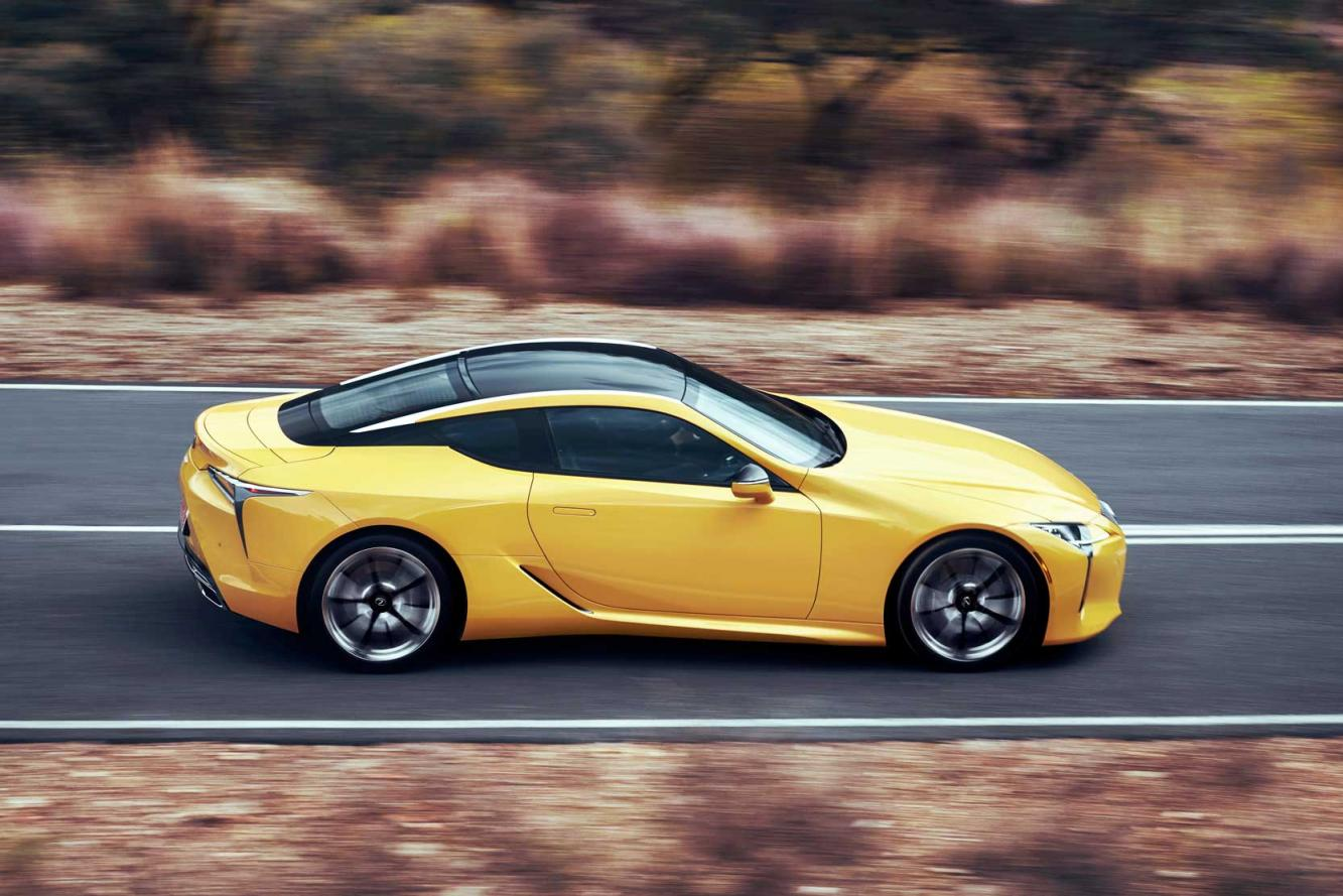 Lexus Lexus Lc Yellow Edition Force Jaune