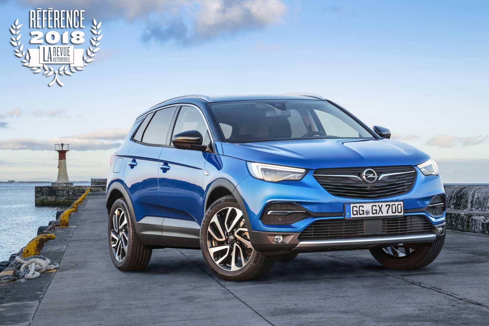 Le Meilleur Suv >> Photo Le Meilleur Suv Compact 2018 L Opel Grandland X