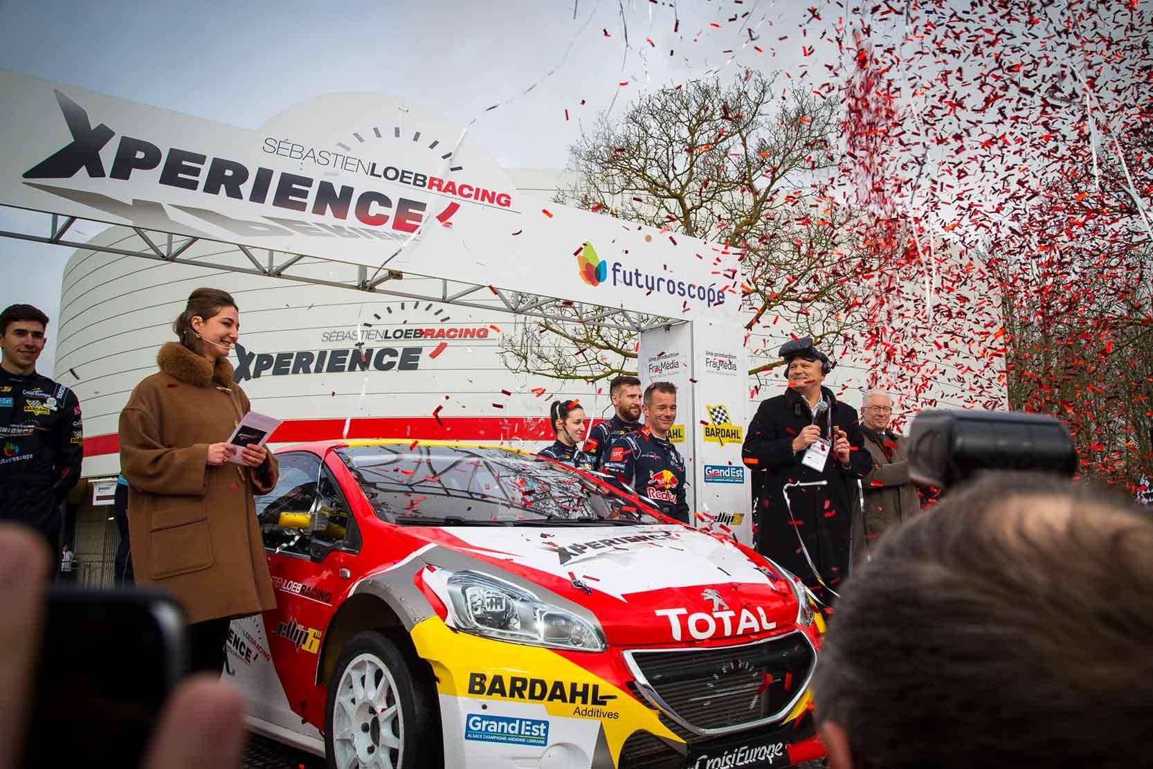 Sebastien Loeb xPerience inauguration