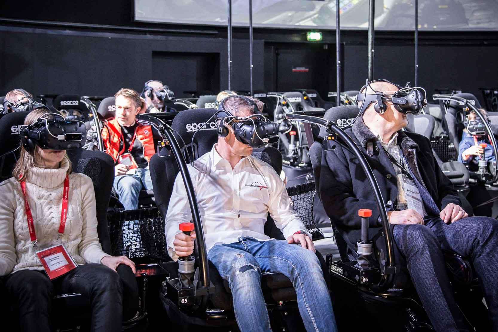 Sebastien Loeb racing attraction
