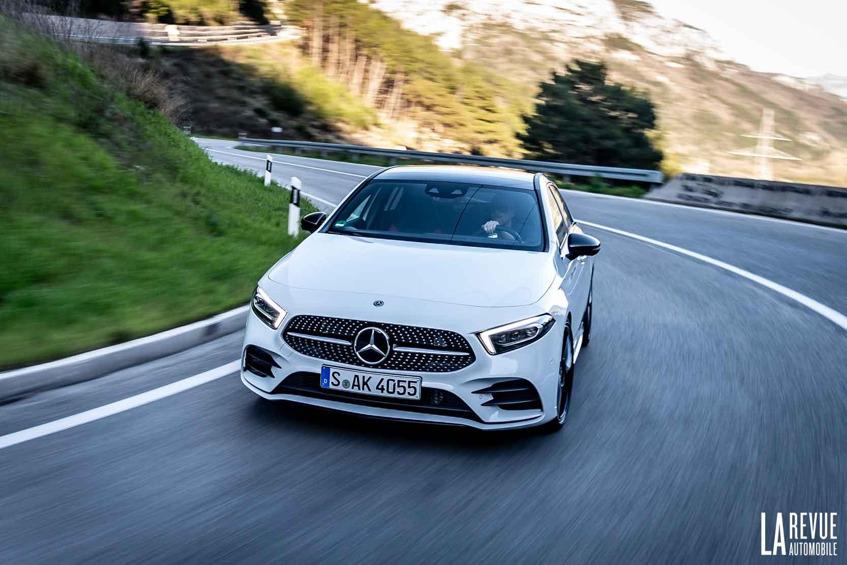 Essai nouvelle Mercedes Classe A