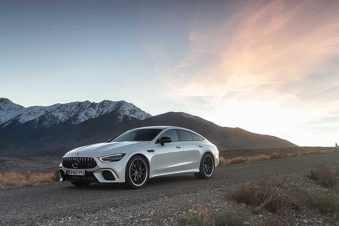 Mercedes AMG GT Coupé 4 portes > Essai Mercedes-AMG GT Coupé 4 portes 63 AMG S : difficile à suivre