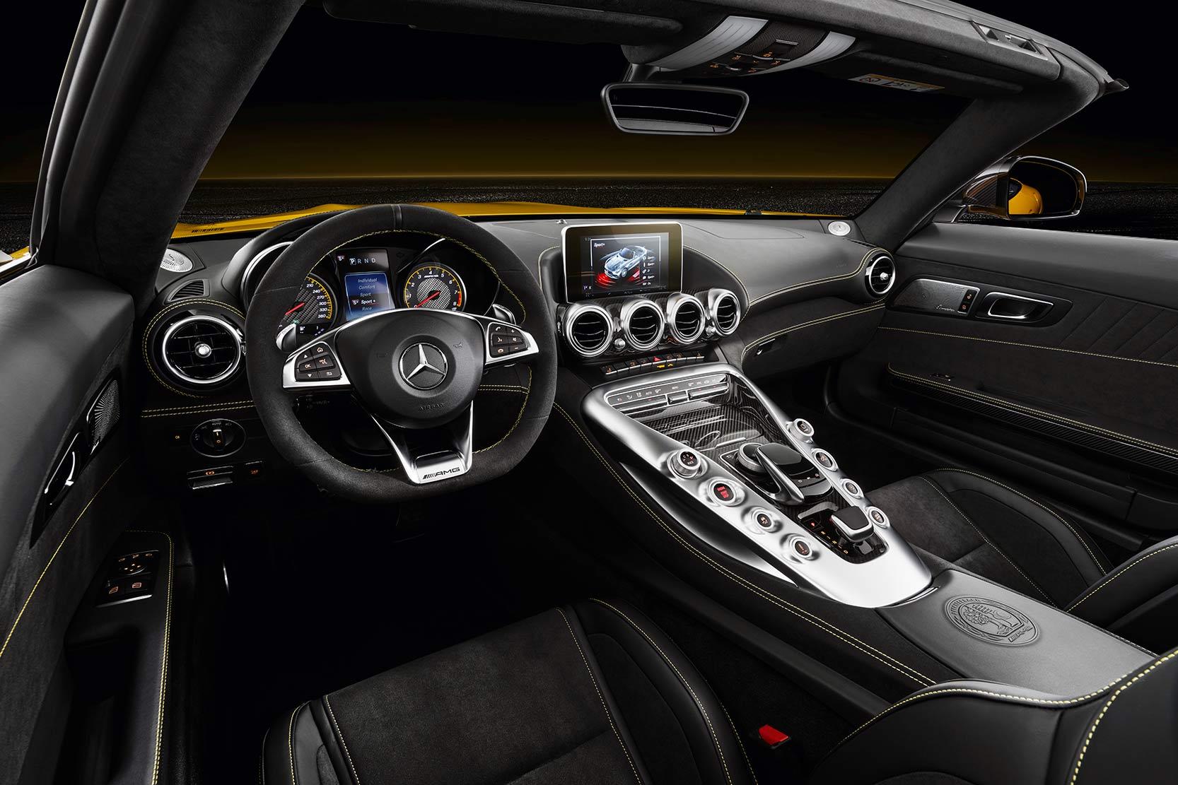 Intérieur Mercedes-AMG GT S Roadster