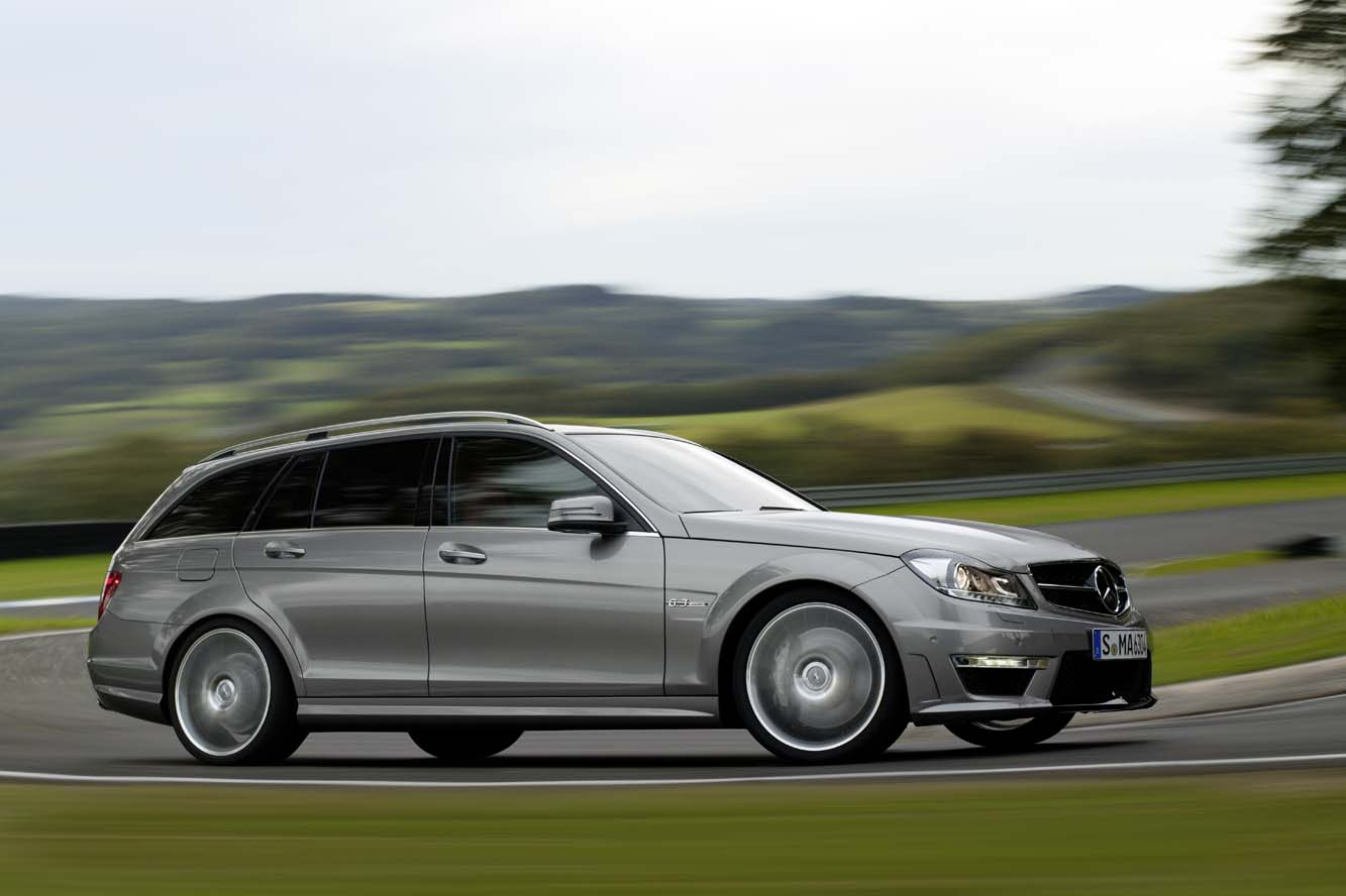 Mercedes C63-AMG-Break
