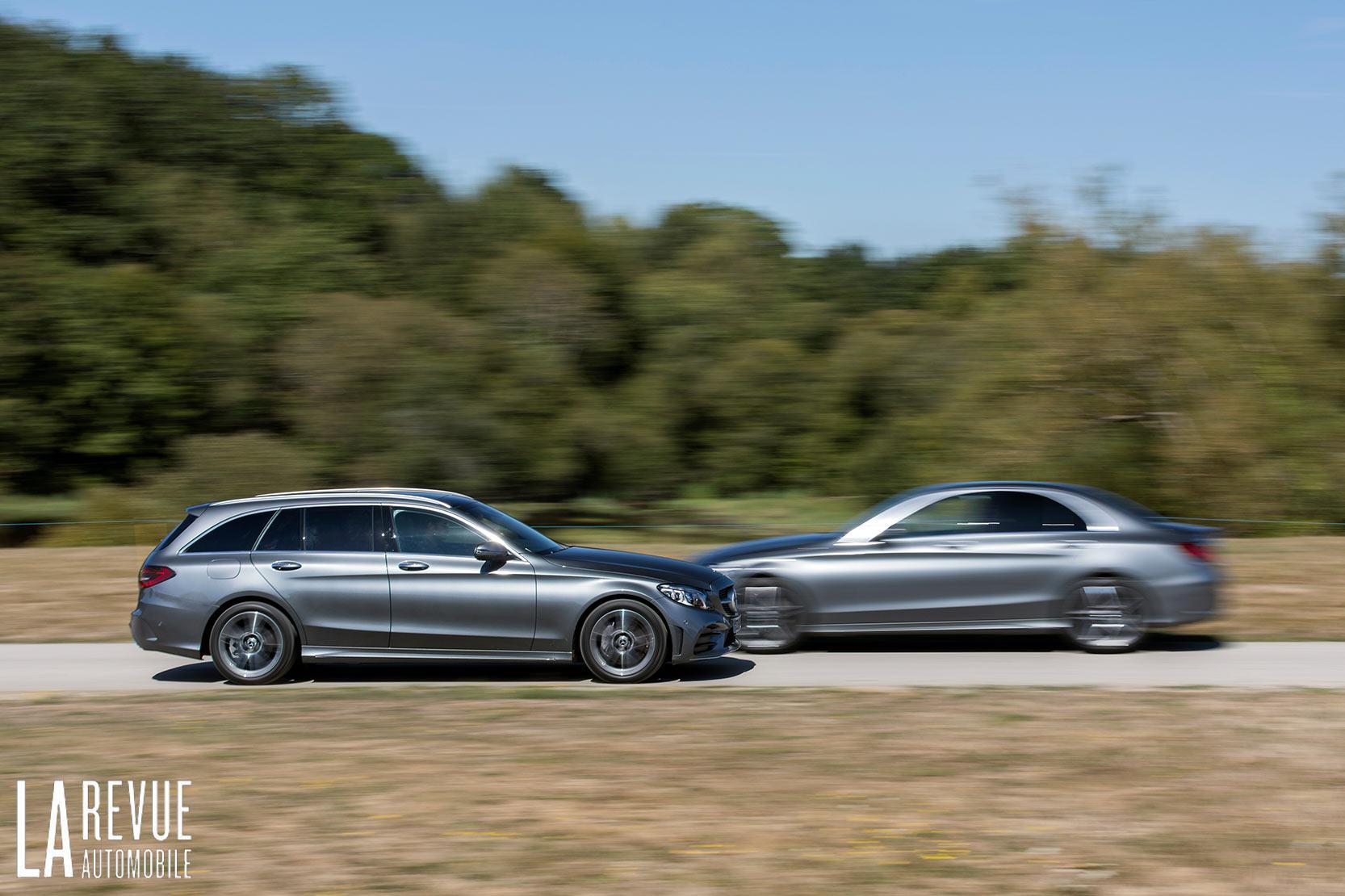 Essai de la nouvelle Mercedes Classe C