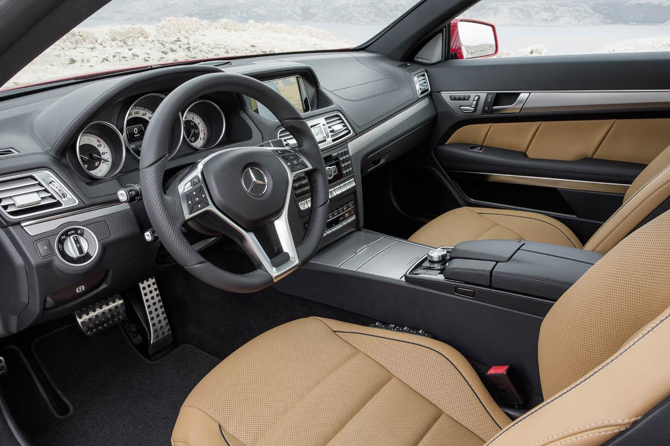 Mercedes Exterieur Mercedes Classe E Coupe 2013 6 Photo Hd
