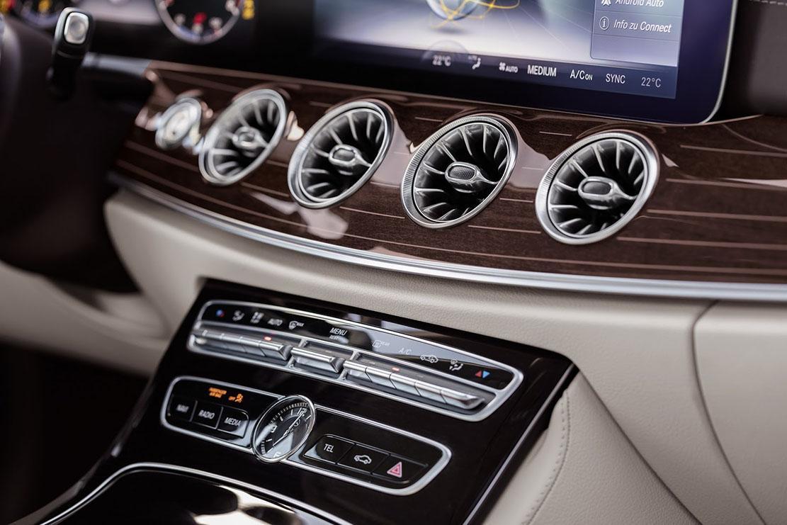 Photo Mercedes Classe E Coupe Interieur Exterieur Annee 2017