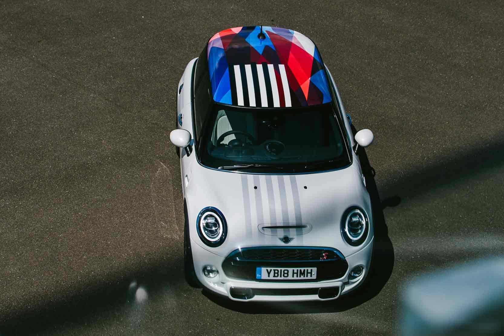 Mini Cooper S pour le mariage du Prince Harry et Meghan Markle