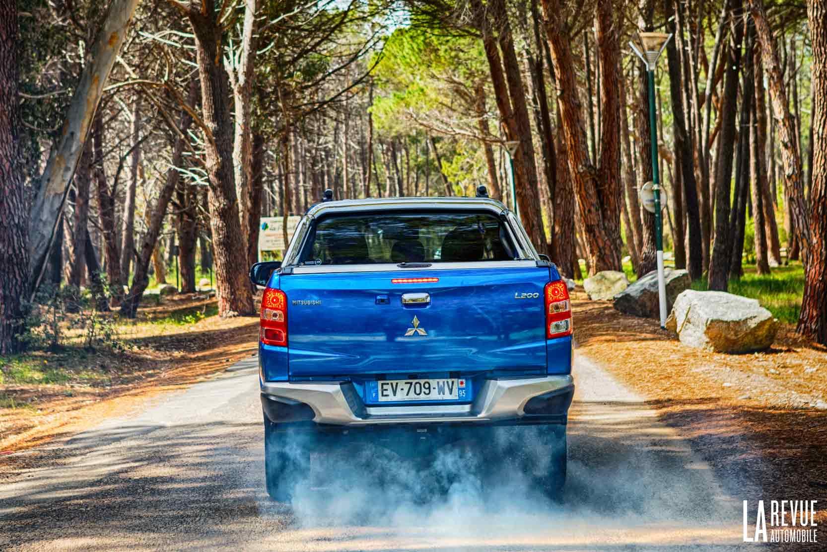 Essai du Pick Up Mitsubishi L200 sur route