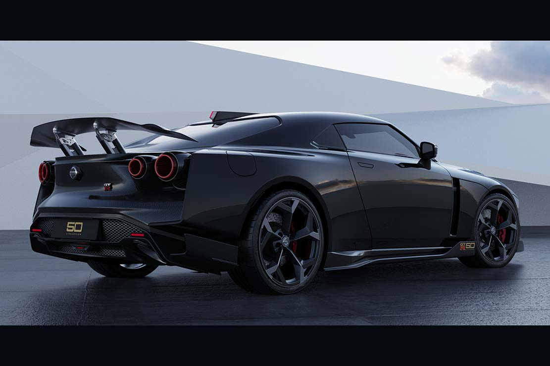 Nissan GT-R50 par Italdesign : la version de série
