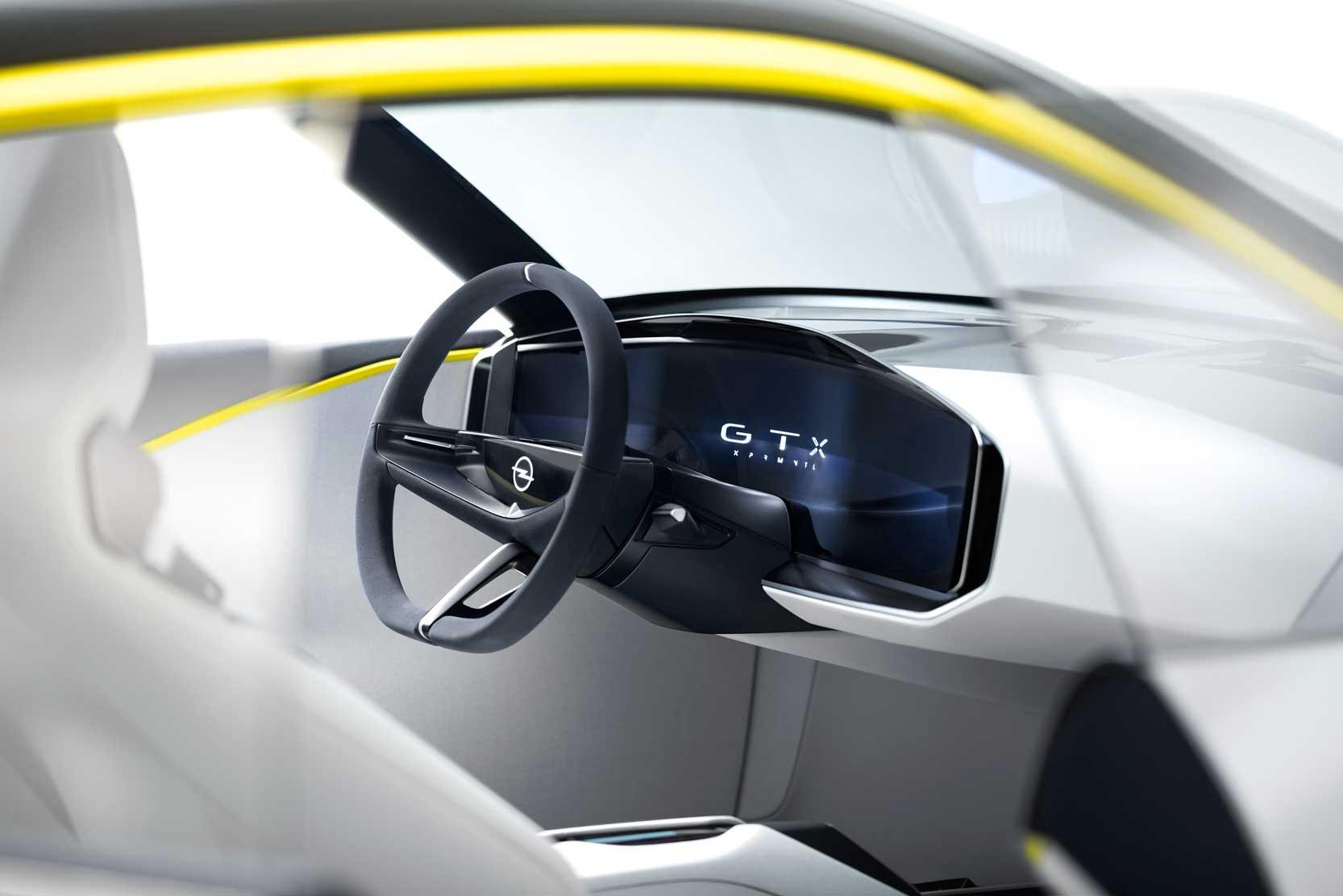 Le Pure Panel d'Opel, fait disparaitre les boutons de l'habitacle