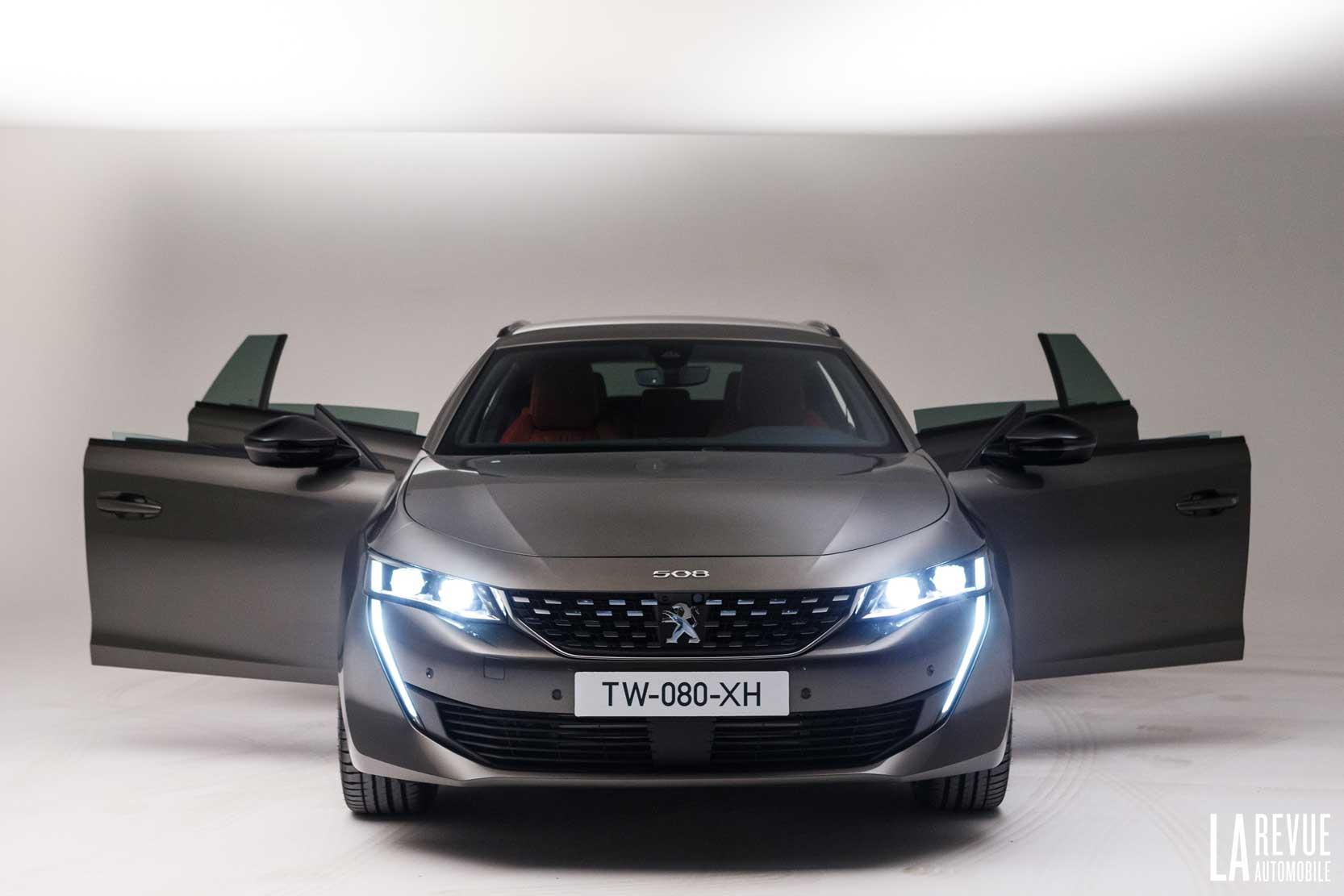 Allure de la nouvelle Peugeot 508 Break
