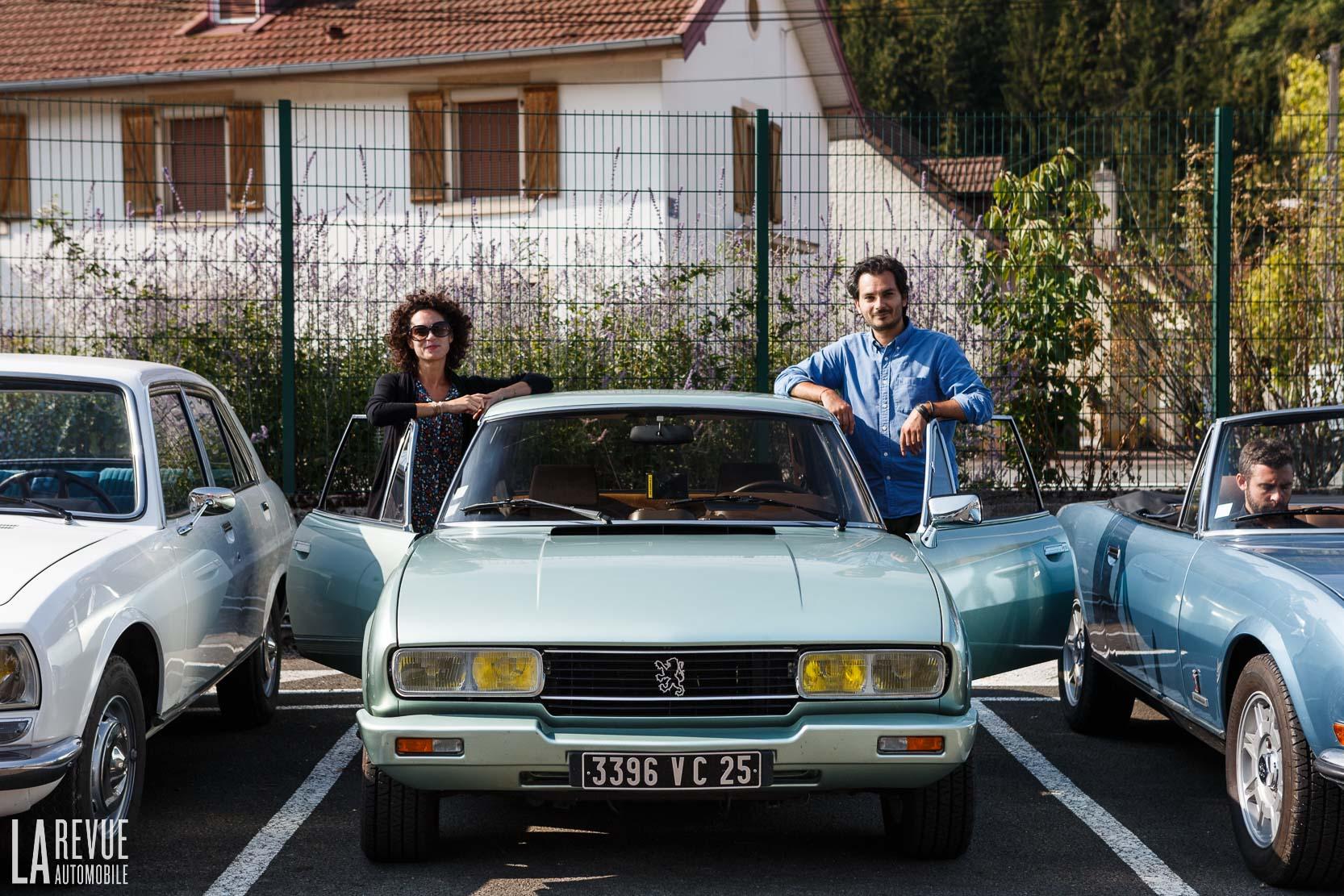 Essai Road Trip avec la Peugeot 504 Coupé