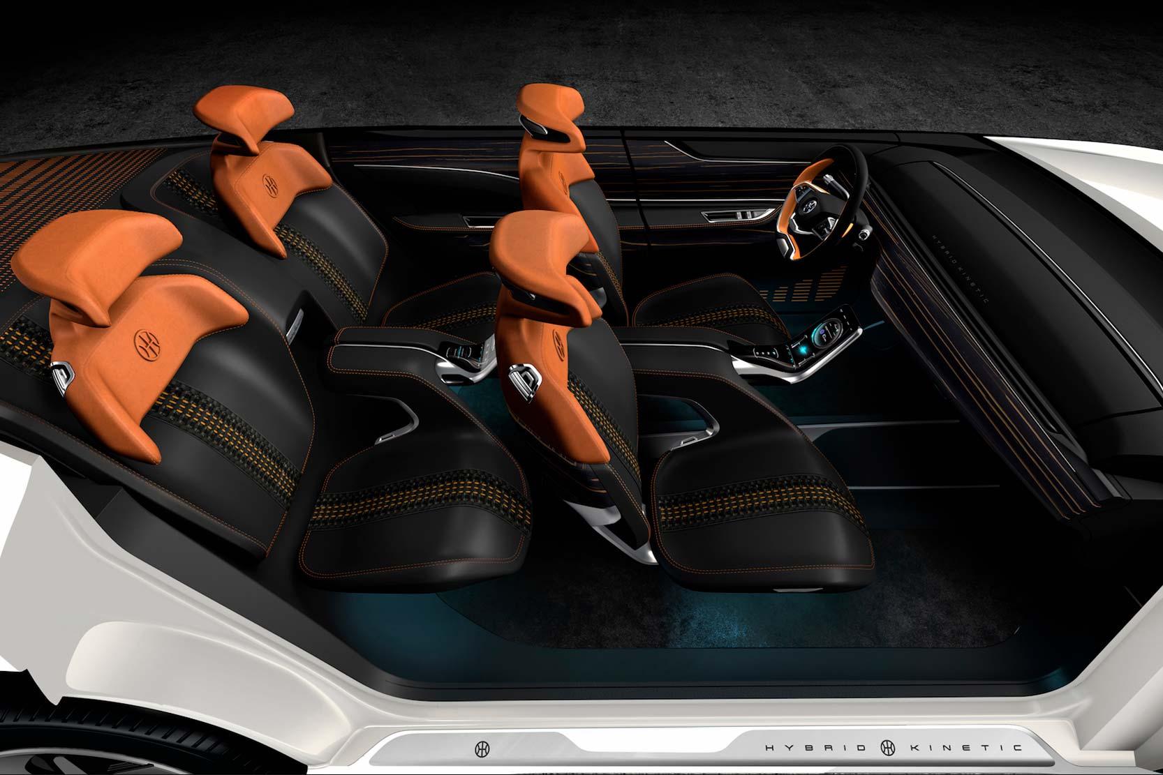 Intérieur Pininfarina K350