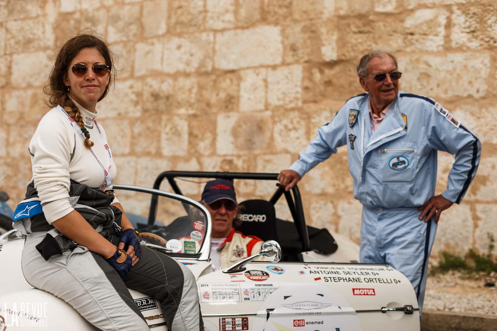 Marie Tourneur en Porsche 356