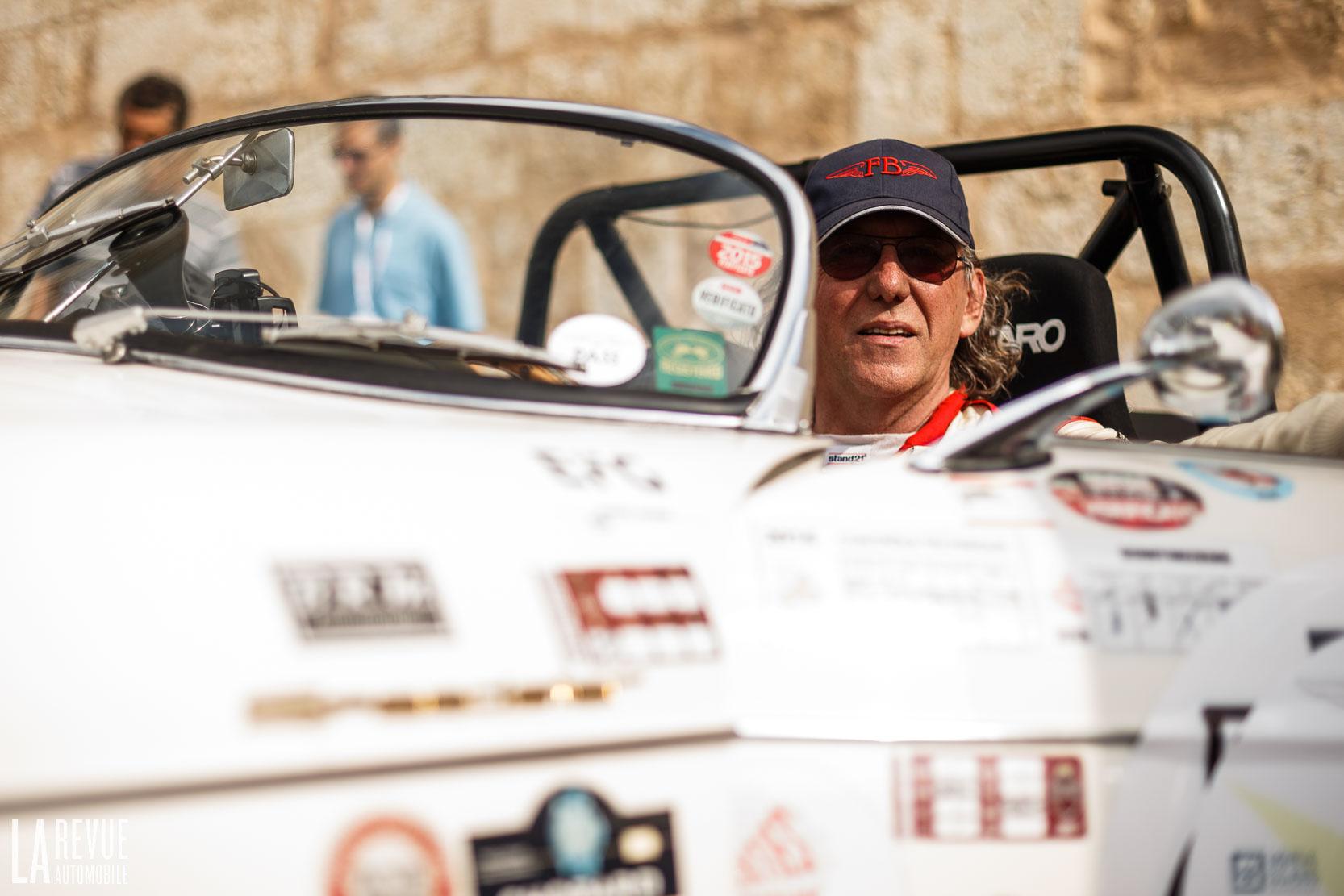 Vincent Tourneur et sa Porsche 356 Speedster