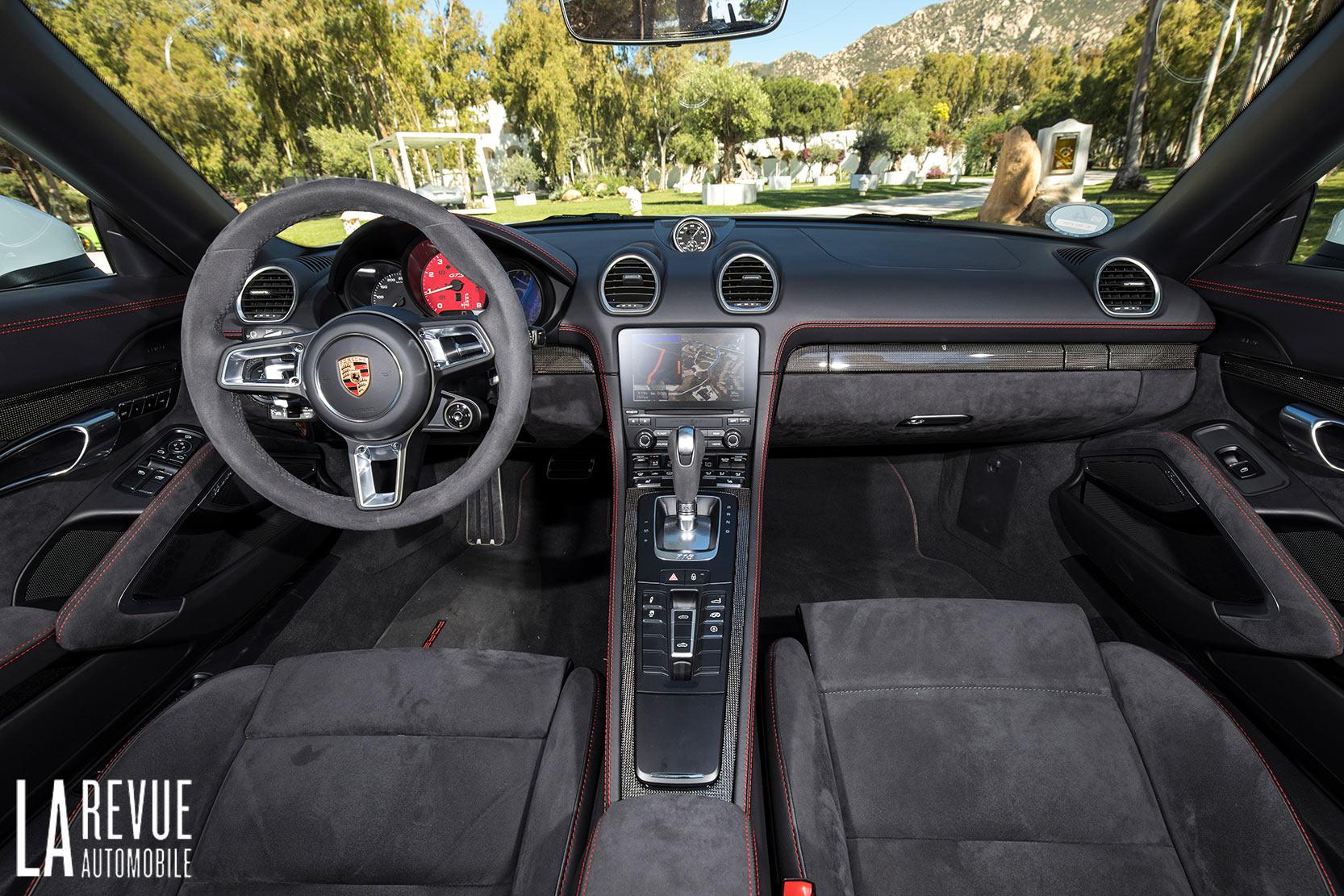 Intérieur Porsche 718 Boxster GTS