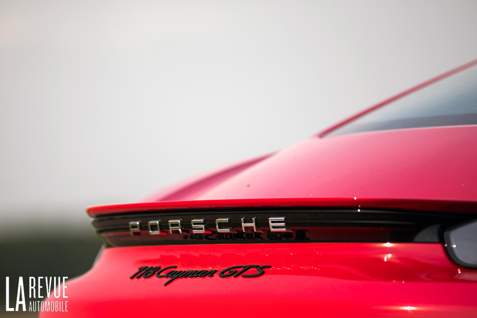 Arrière Porsche 718 Cayman GTS