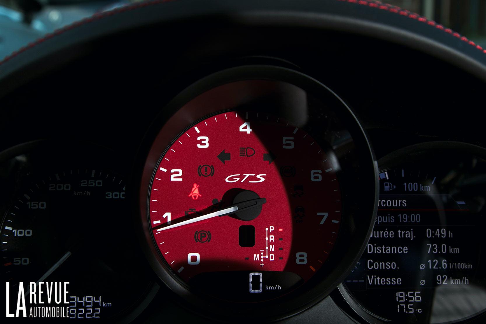 Intérieur Porsche 718 Cayman GTS