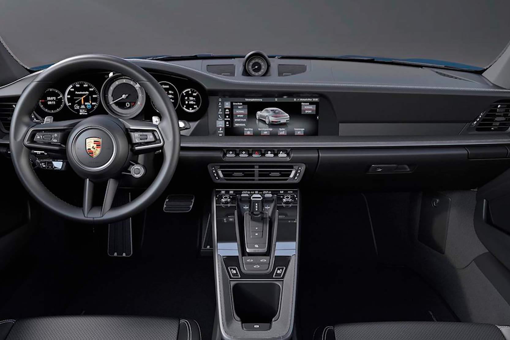 Intérieur Porsche 911 type 992