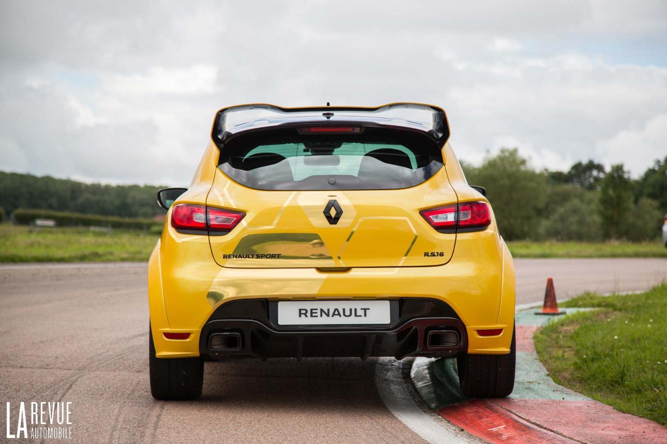 Renault Clio Renault Clio Rs 16 A Bord De La Plus Megane