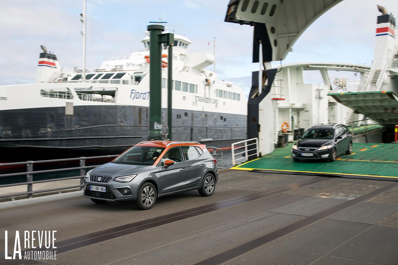 Le bateau est un vrai et bon moyen de déplacement en Norvège