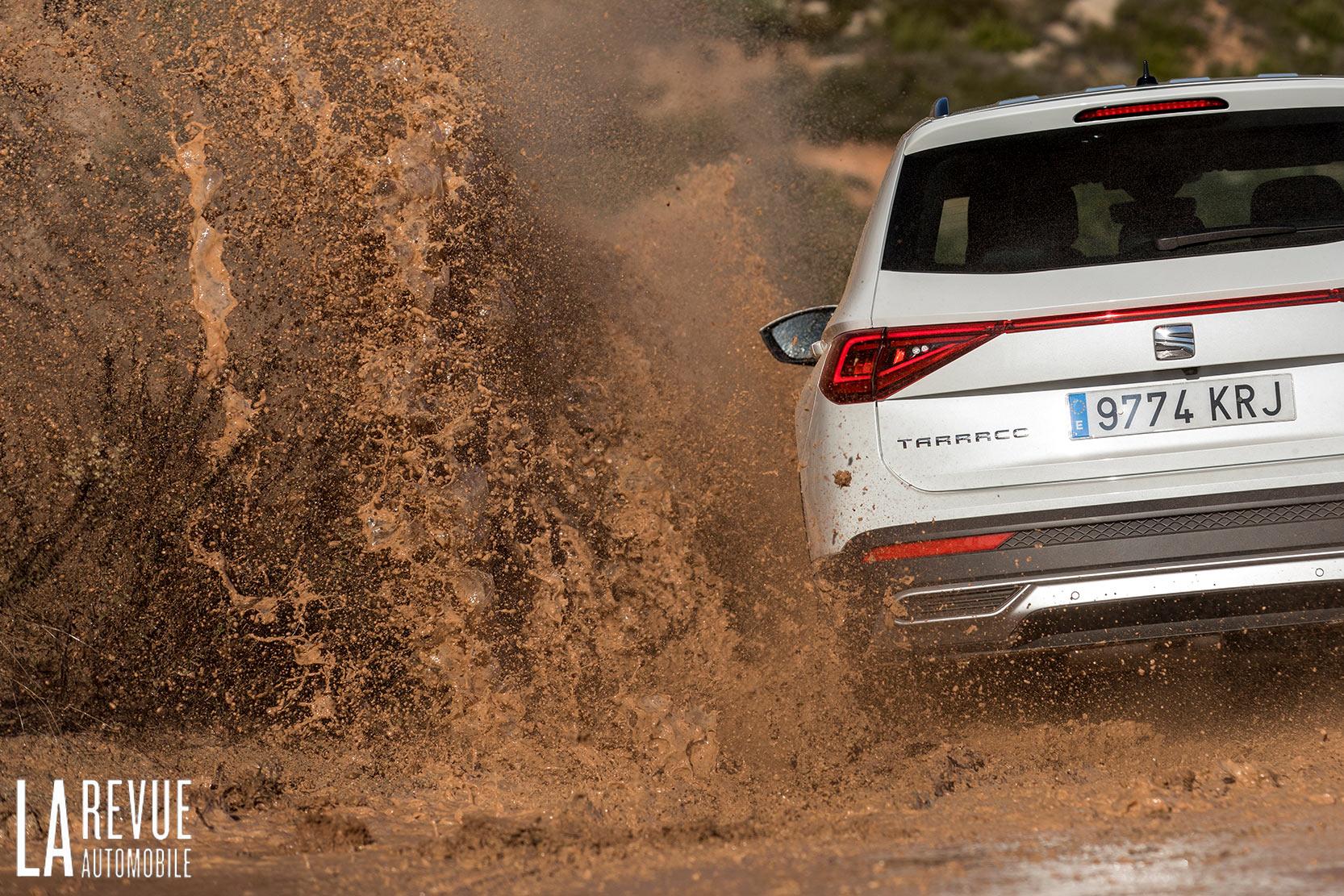 Test du SEAT Tarraco 4Drive en Offroad