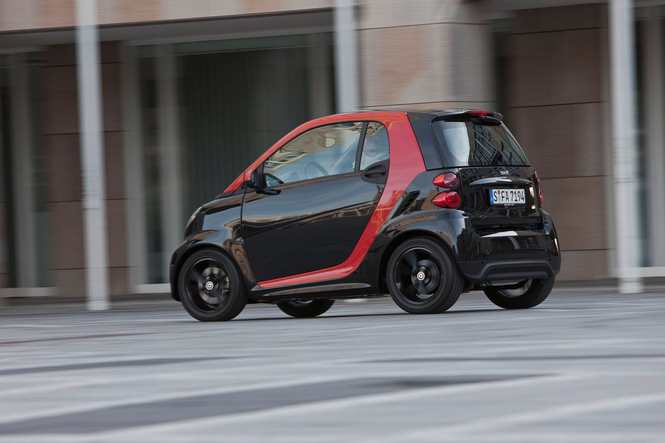Galerie Smart fortwo-sharpred
