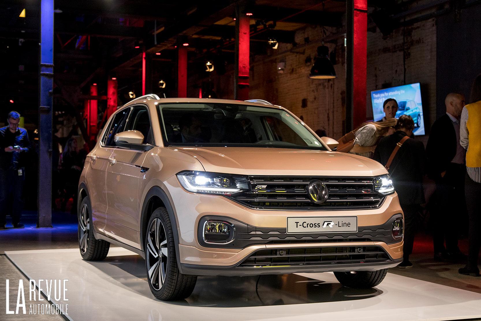 Volkswagen T-Cross en première mondiale