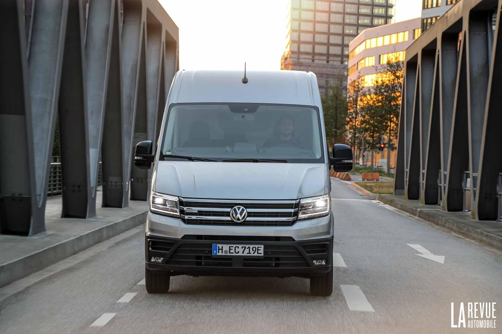 Volkswagen e-Creafter l'utilitaire electrique