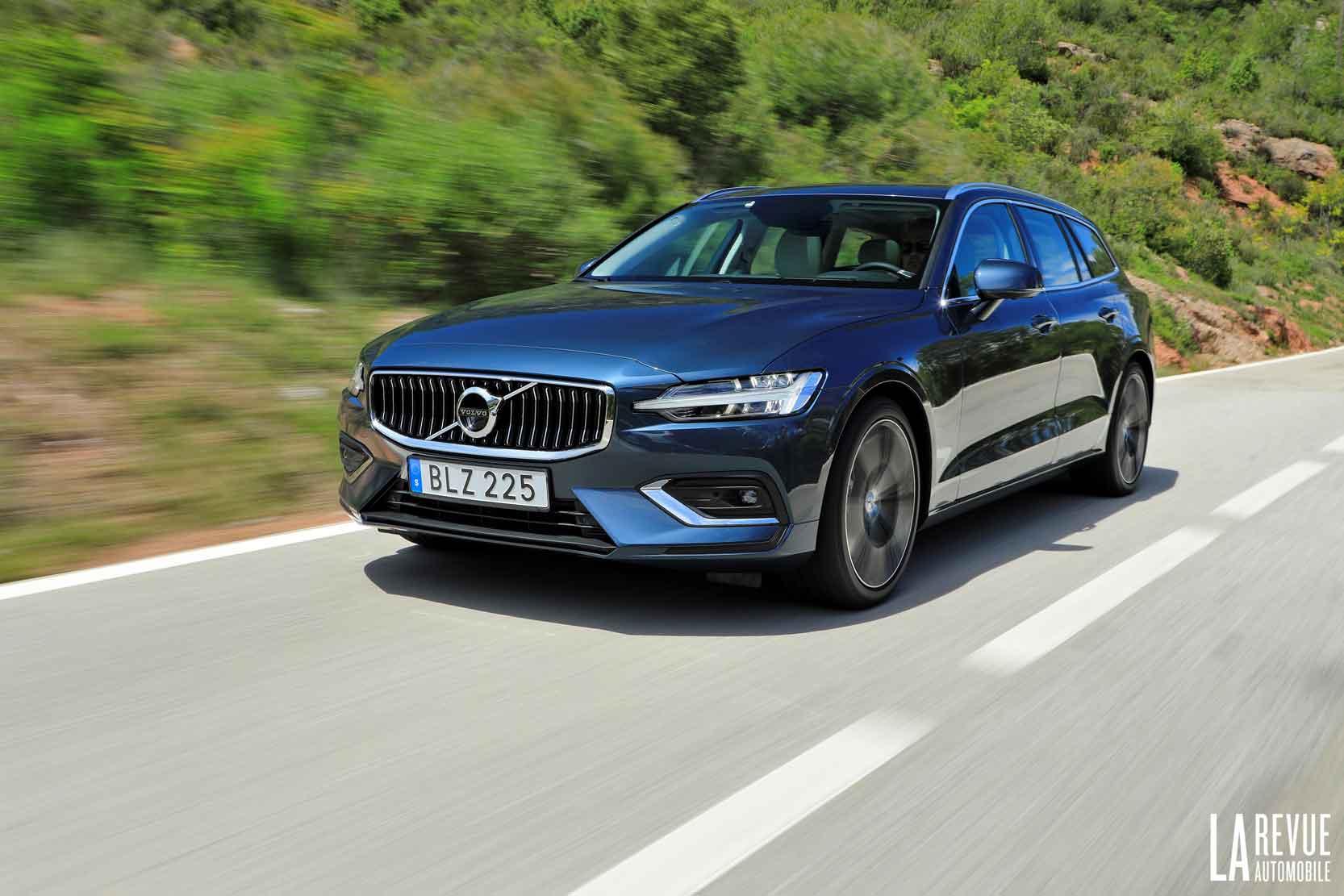 Essai du nouveau break Volvo V60